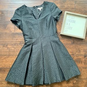 {Banana Republic} Black Fit Flare Dress
